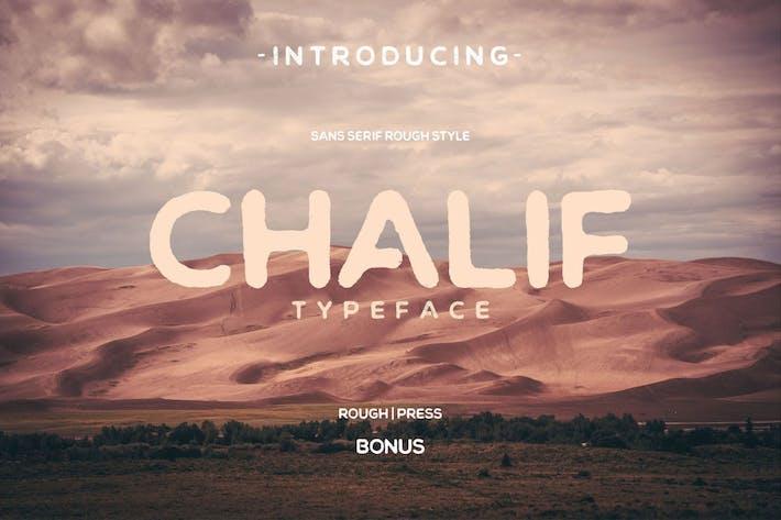 Thumbnail for Chalif Vintage Sans Font