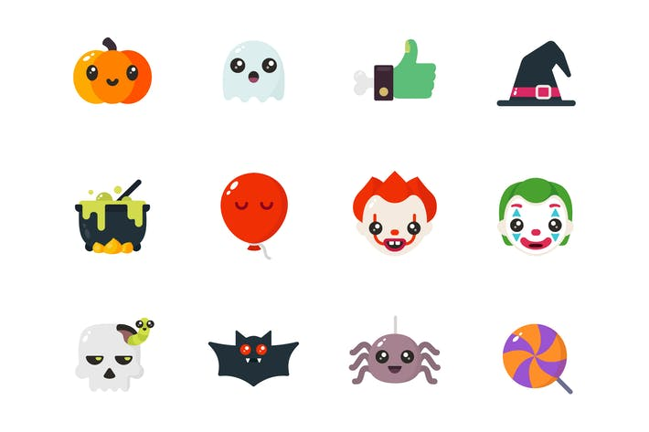Thumbnail for Halloween - Icons