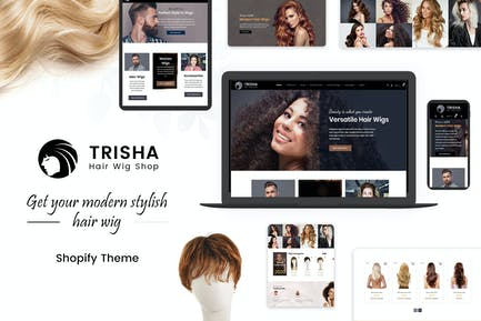 Trisha | Hair Weave, Wig Shopify Theme