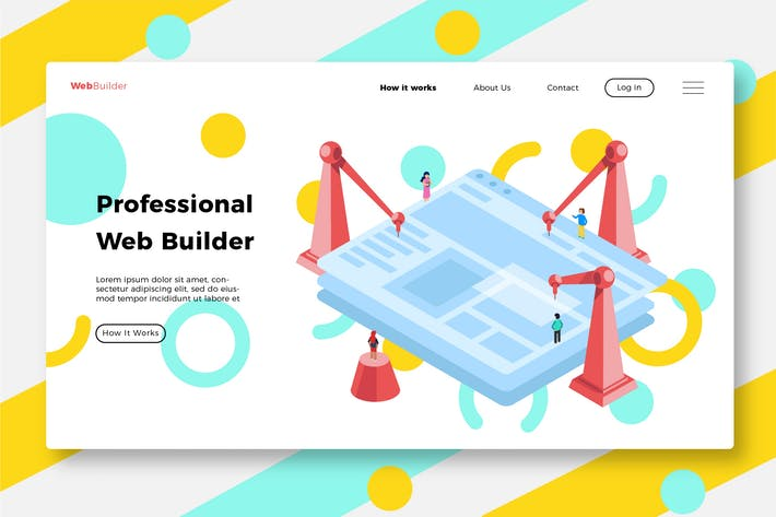 Thumbnail for Web Design - Banner & Landing Page