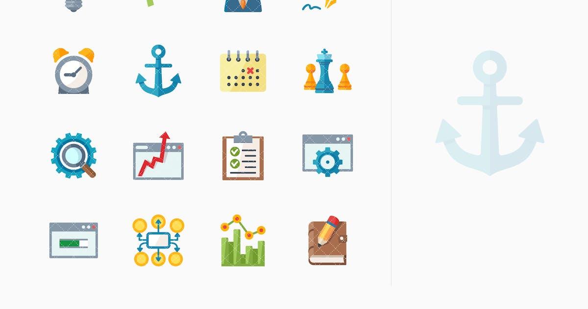 Download SEO & Internet Marketing Icons Set 5 - Flat Series by introwiz1
