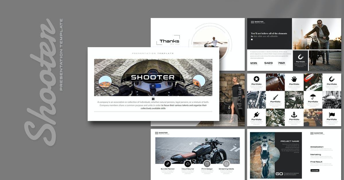 Download Shooter - Powerpoint Template by Artmonk