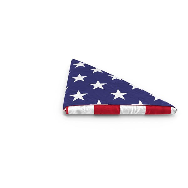 Thumbnail for Folded American Flag