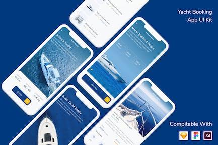 Yacht Booking App UI Kit