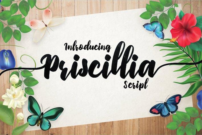 Thumbnail for Priscillia Script