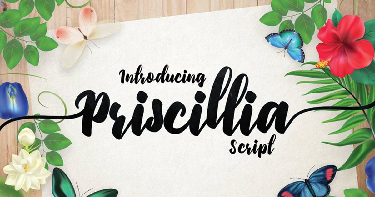 Download Priscillia Script by DebutStudio
