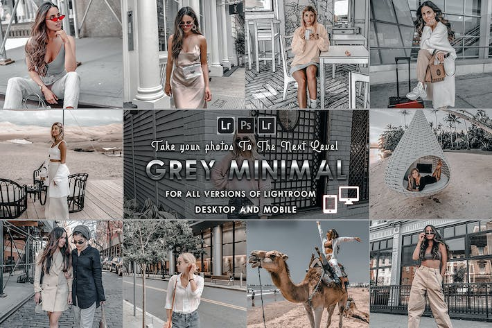 Cover Image For Moody-Grey Presets for Mobile and Desktop