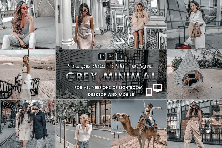 Thumbnail for Moody-Grey Presets for Mobile and Desktop