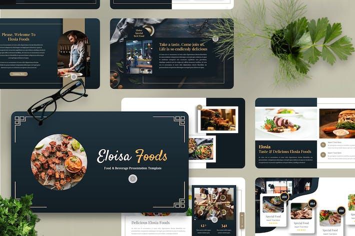 Eloisa - Food & Beverage Powerpoint Template