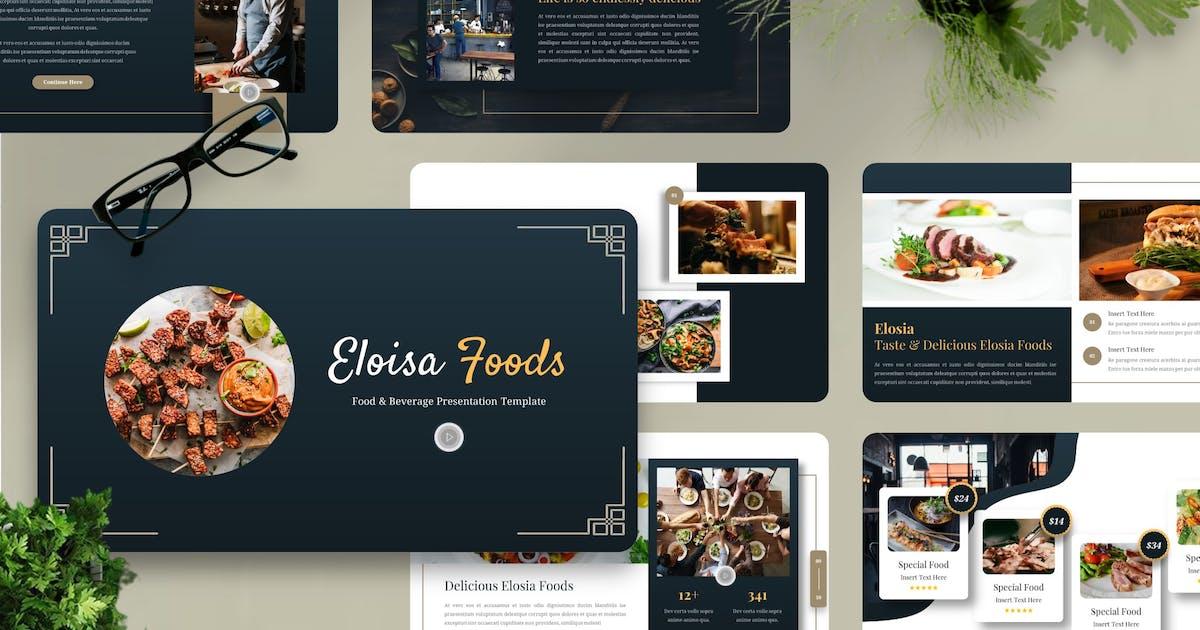 Download Eloisa - Food & Beverage Powerpoint Template by Yumnacreative