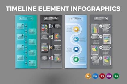 Timeline Element – Infographics Design