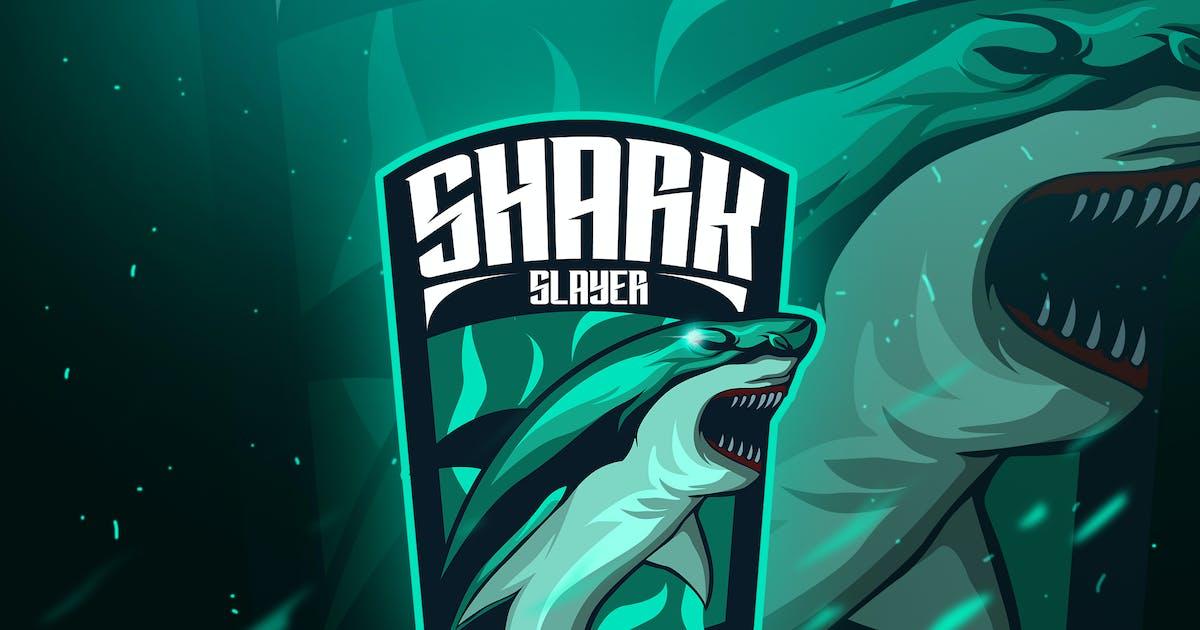 Shark - Mascot & Esport Logo by aqrstudio