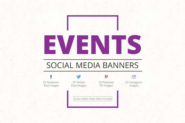 Thumbnail for Events Social Media Banners