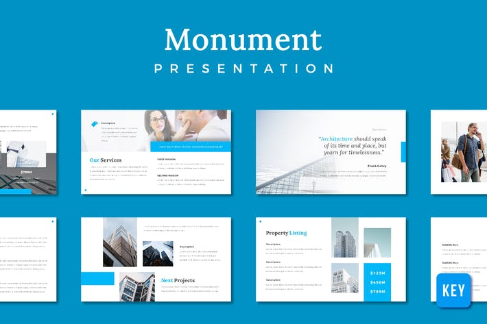 Thumbnail for Monument Building Presentation - (KEY)