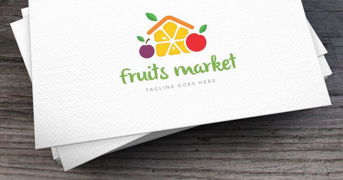 Download Fruits Market Logo Template by empativo