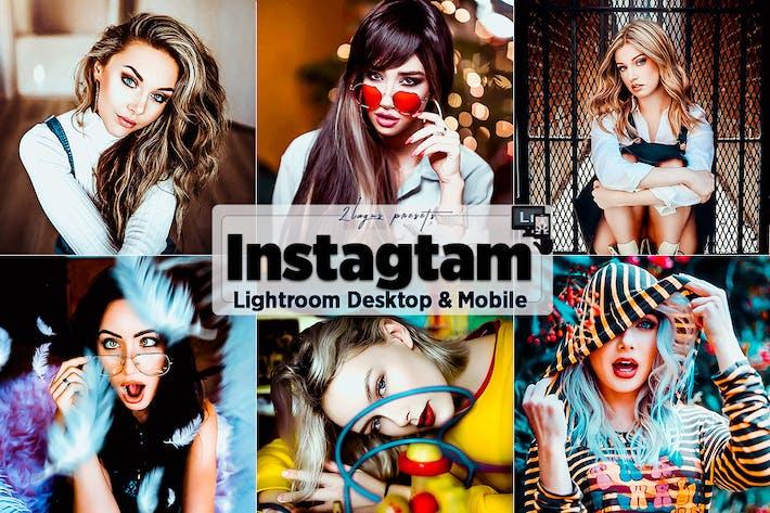 Thumbnail for Instagram Пресеты Lightroom для мобильных ПК