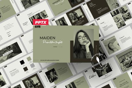 Maiden Powerpoint Creative