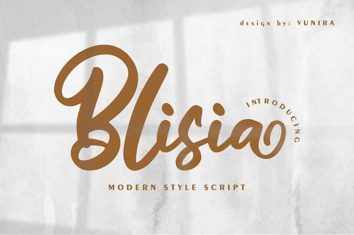 Thumbnail for Blisia | Modern Style Script