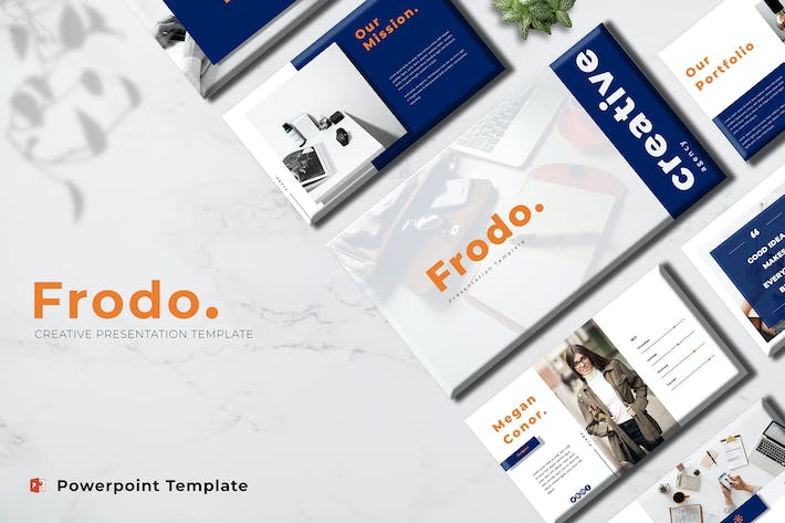 Thumbnail for Frodo - Creative Powerpoint Template