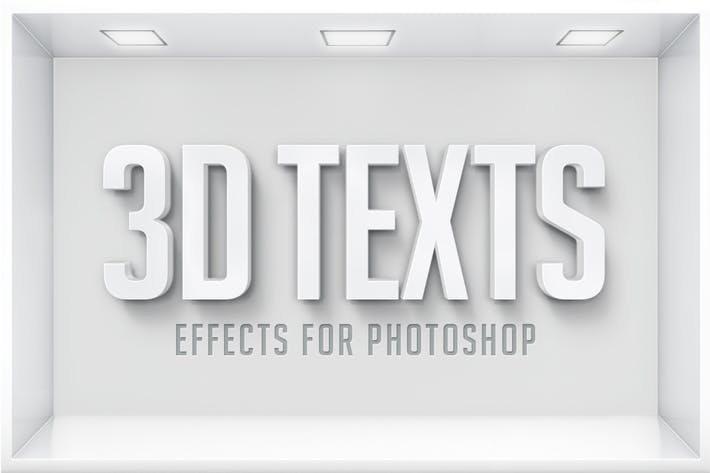 Thumbnail for 3D Text Effects