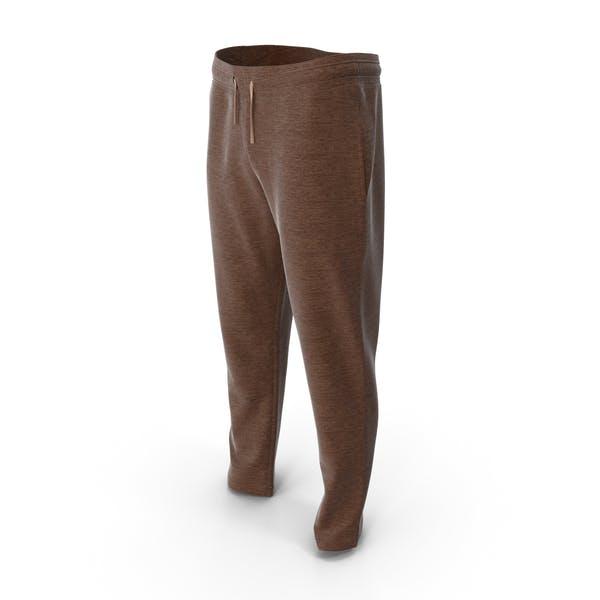 Mens Sport Pants Brown