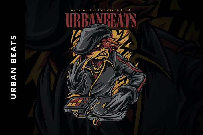 Thumbnail for Urban Beats Illustration