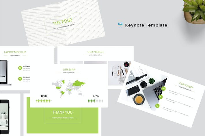 Cover Image For The Edge - Multipurpose Keynote Template