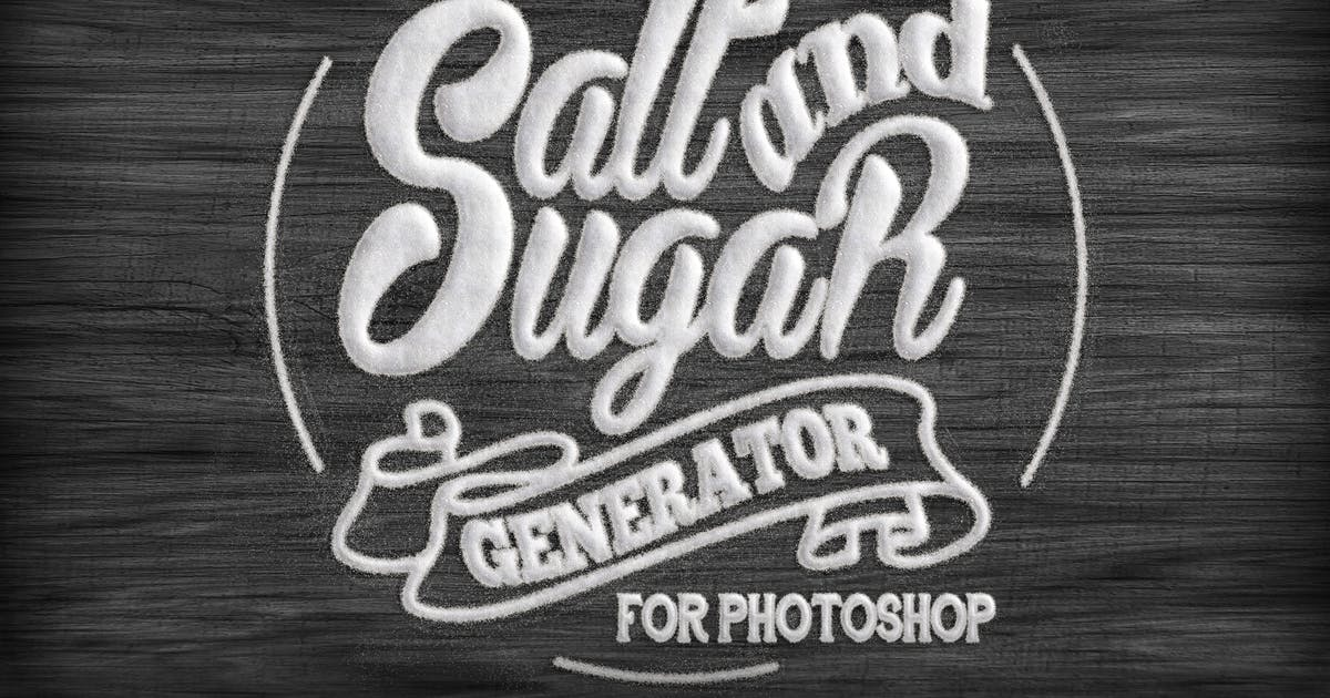 Download Salt and Sugar Generator - Photoshop Actions by BlackNull