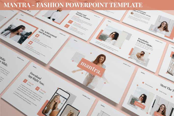 Thumbnail for Mantra - Fashion Powerpoint Template