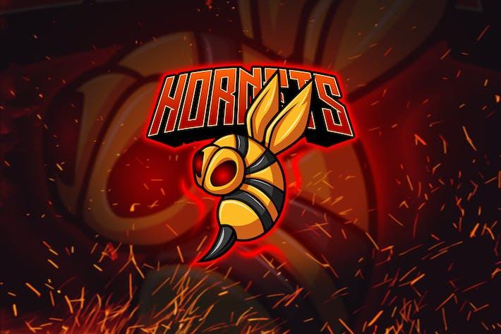 Thumbnail for Hornet - Esports & Mascot Logo YR