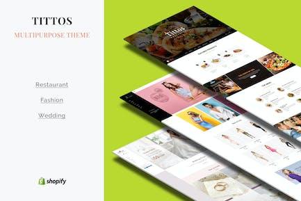 Tittos | Multipurpose Shopify Theme