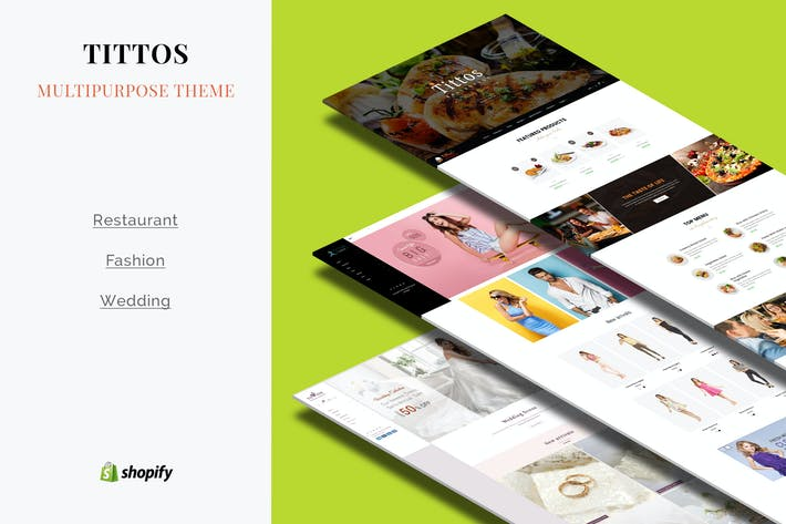 Thumbnail for Tittos | Multipurpose Shopify Theme