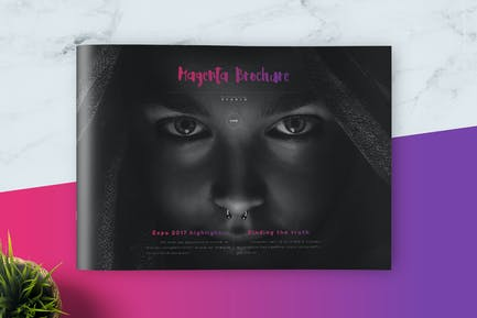 Magenta Modern Brochure