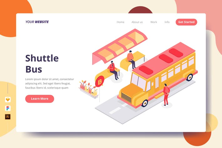Thumbnail for Shuttle Bus - Landing Page