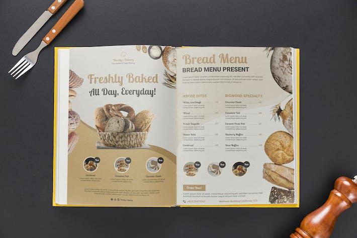 Bread Menu Flyer