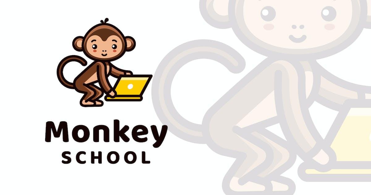Download Monkey School Logo Template by IanMikraz