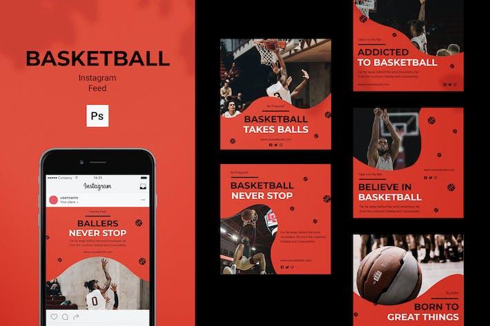 Thumbnail for Basketball Instagram Feed Post