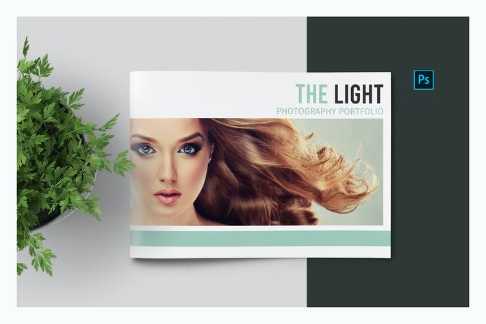 Thumbnail for PSD Photo Album Template