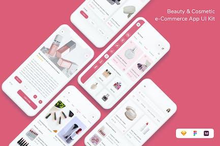 Beauty & Cosmetic e-Commerce App UI Kit