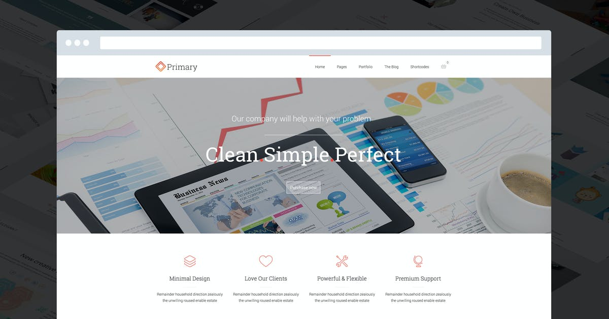 Download Primary - Flexible Business HTML 5/CSS 3 Template by DankovThemes