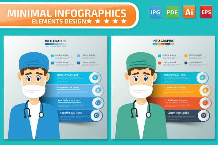 Thumbnail for Health Care Infographics