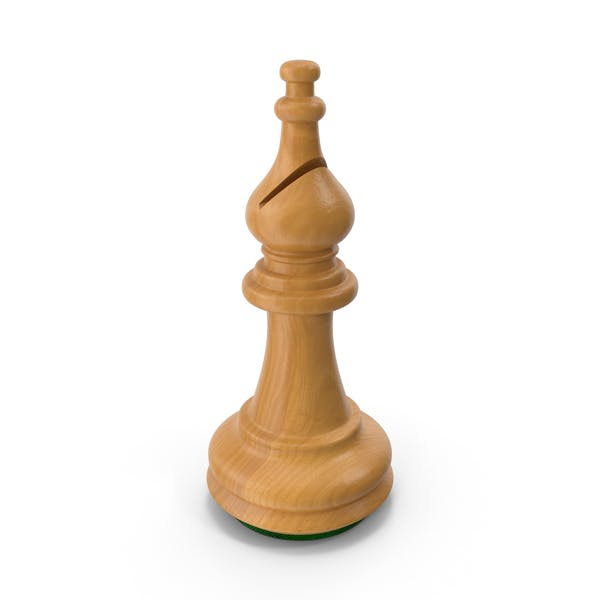 Thumbnail for Wooden Chess Bishop