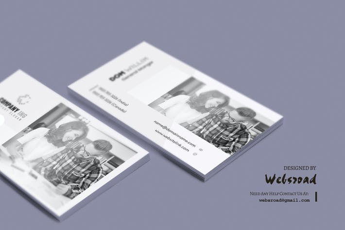 Cover Image For Business Card Template