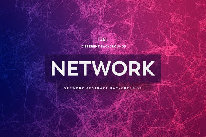 Network Abstract Backgrounds