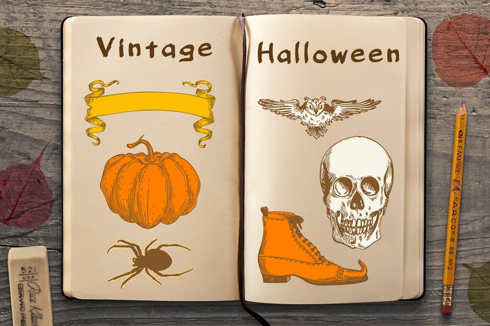 Cover Image For Vintage Halloween