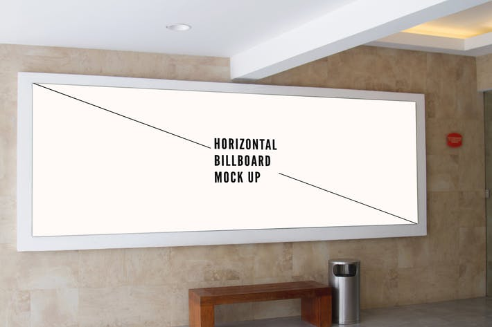 Thumbnail for Horizontal Billboard Mock Up Vol 3