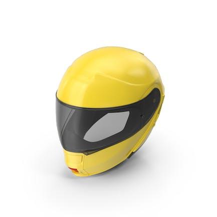 Yellow Racing Helmet