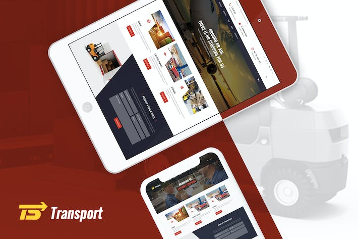 Thumbnail for Transport - Transport, Logistic & Warehouse HTML T