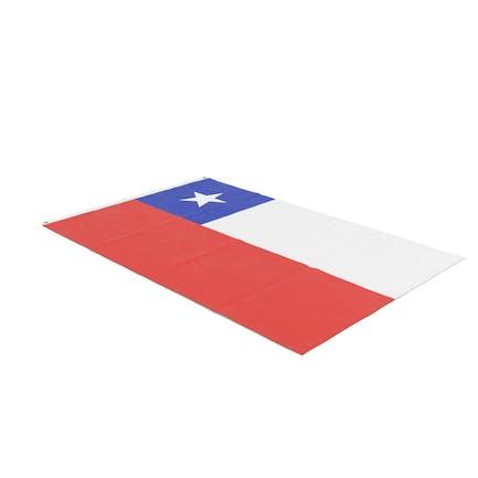 Flag Laying Pose Chile