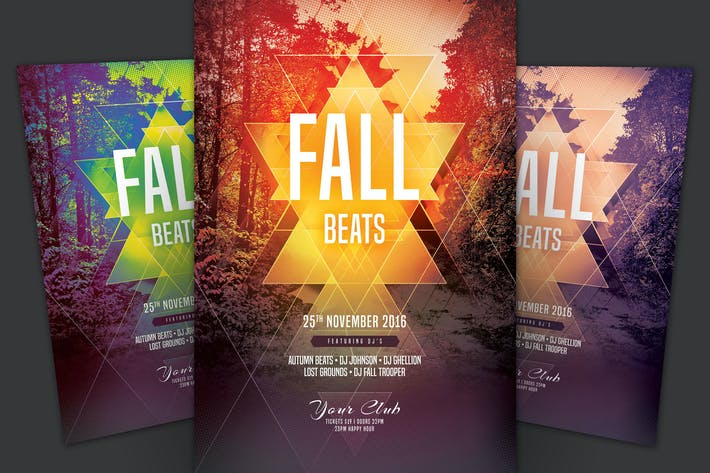 Thumbnail for Fall Beats Flyer